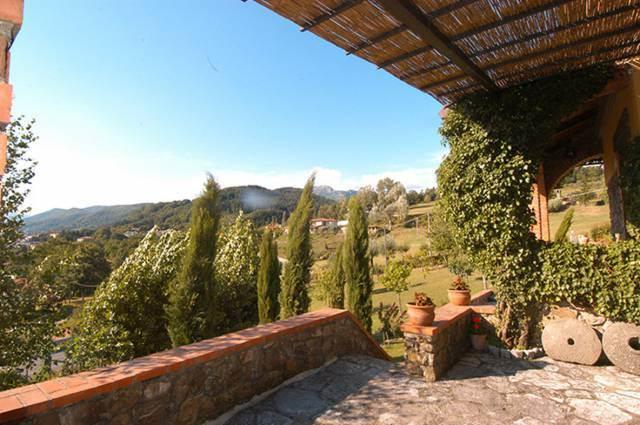 Vista panoramica dalla casa